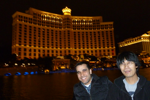 In Front of the Bellagio