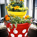 DIY – Polka Dot Tiered Planters
