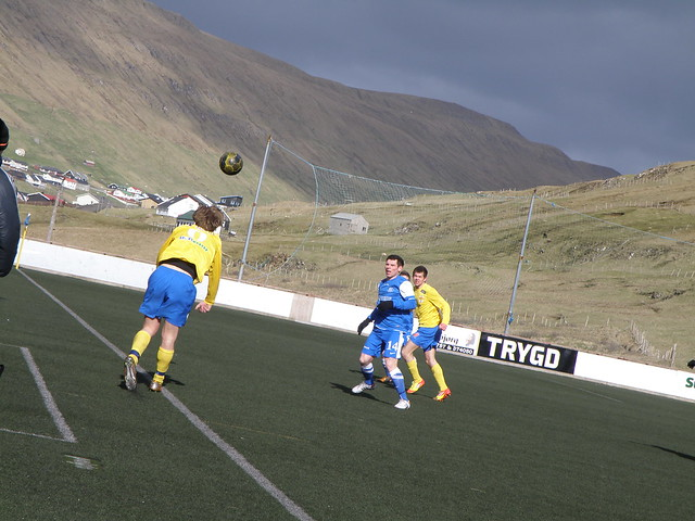 FC Suðuroy 5 - 1 B71 Sandoy in the Quarter Final in the Faroe Islands Cup 2012