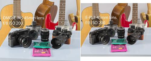 Olympus OM-D E-M5 E-PL3 45mm lens - ISO-200