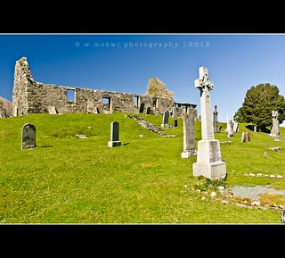 Torrin ~ old church ruins & graveyard