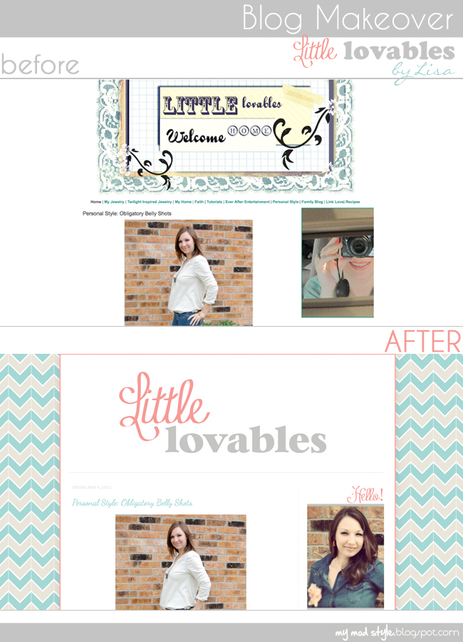 BLOG MAKEOVER layout