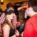 Director Paul Morrell talks with a fan.