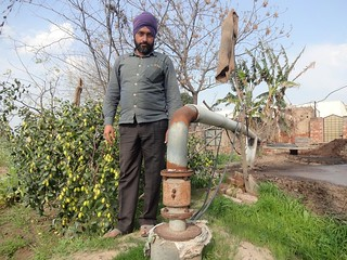 Lakhwinder Singh of Gajewas village in Patiala has got three borewells dug in 15 years. His cousin Khushpal Singh committed suicide because he was unable to get his borewell redug due to mounting debt.
