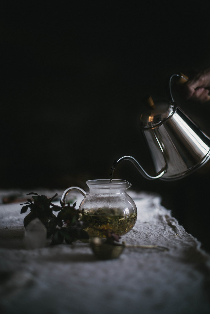 Herbal Tea Blending