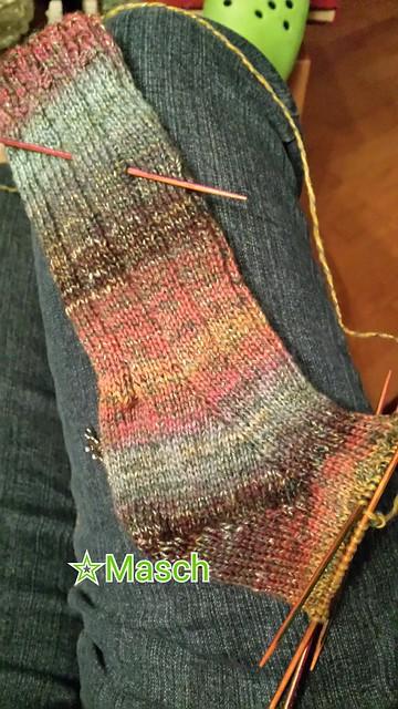 Zwirnrausch Socken