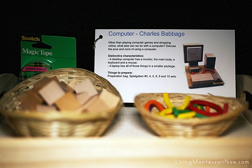 Charles Babbage Computer-Building Activity
