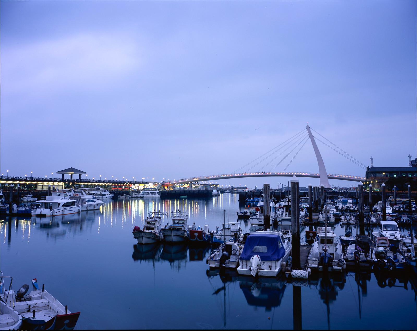 漁人碼頭 4 X 5 相機 (一張流)