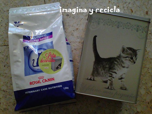 lata de regalo royal canin