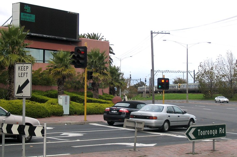 Tattersalls head office, faulty electronic billboard, May 2004