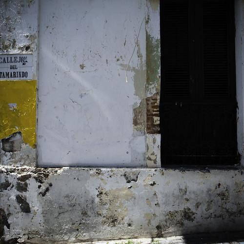 Corner of Calle del Tamarindo, Old San Juan, Puerto Rico