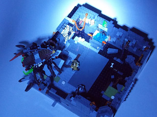 LEGO Chima MOC - Scorpion Palace Ruins 2