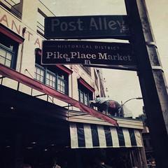 Post Alley Marker