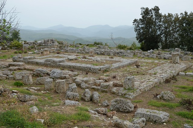 Temple of Demeter, dated to the 1st half of the 4th century BC, Lepreon, Greece
