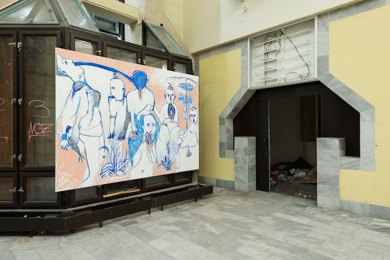 4. Installation view