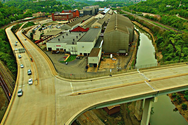 A View From The Westinghouse Bridge