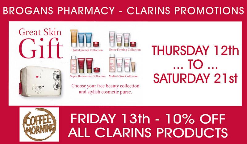 BROGANS Clarins Promotion