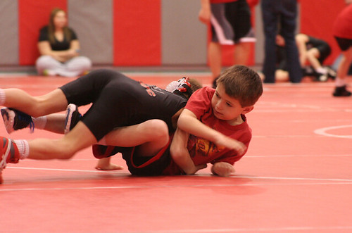 Chase Wrestling Scrimmage