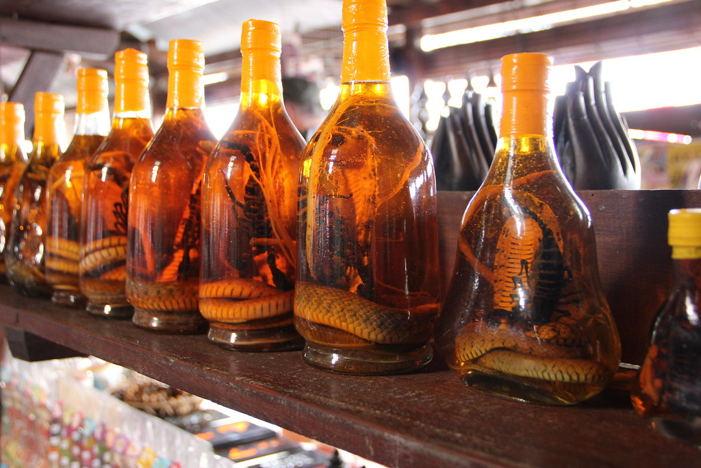Snake and Scorpion Whiskey