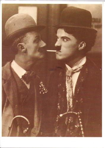 Ben Turpin & Charlie Chaplin