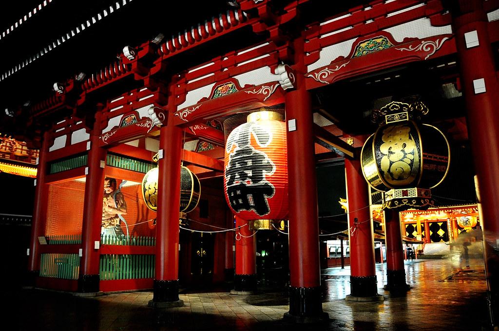 淺草寺週邊夜景