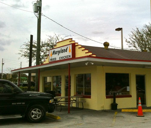 Maryland Fried Chicken Building Winter Garden FL