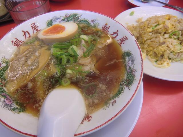 背脂系醤油ラーメン 魁力屋  (ラーメンカイリキヤ)
