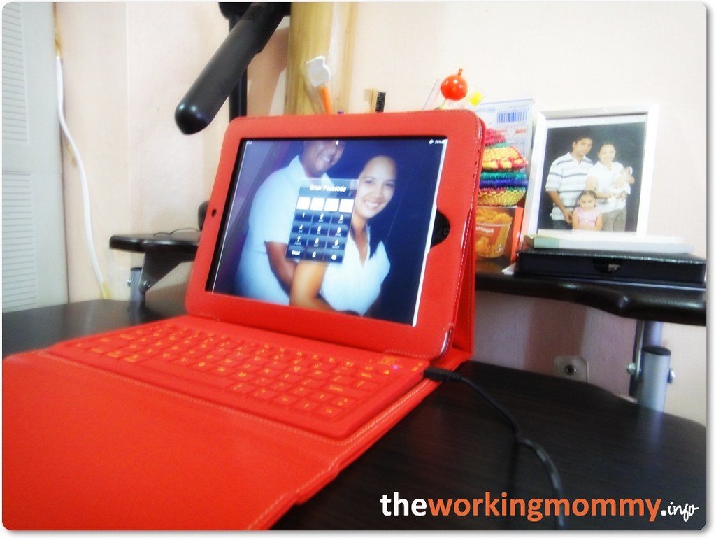 Leather Case with Wireless Bluetooth Keyboard for Apple iPad 1