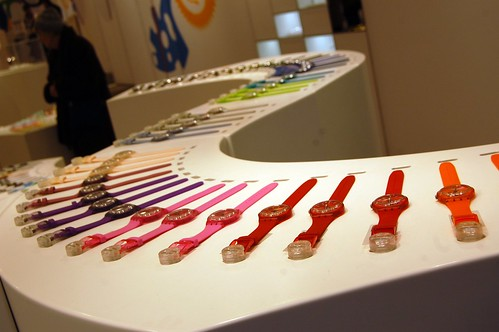 Swatch watches, Munich