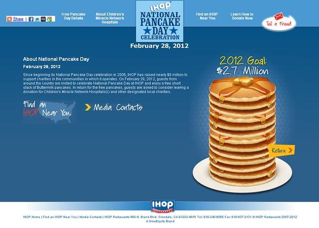 IHOP National Pancake Day - February 28, 2012 - Pancake Day Details_cr