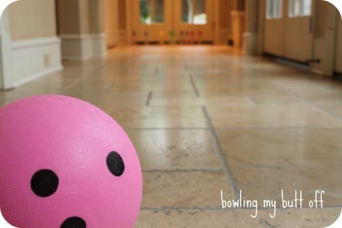 Bowling set up