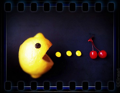 260/365- Mr. Lemon Pac-Man by elineart