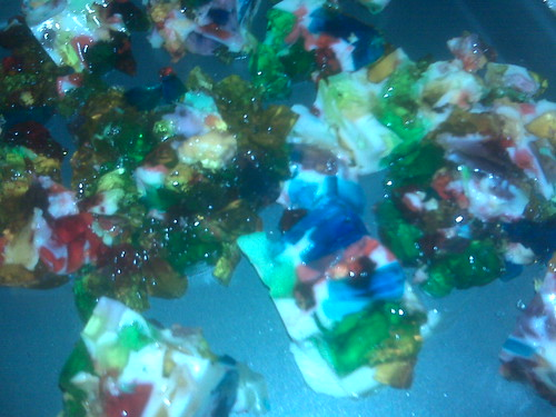Rainbow Stained Glass Jello