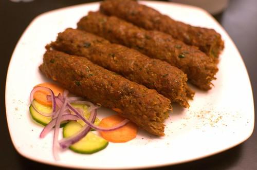 Lamb seehk kebab