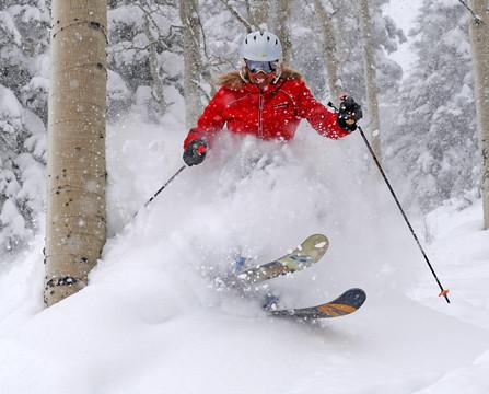 Powder Day at Wolf Creek Ski Area