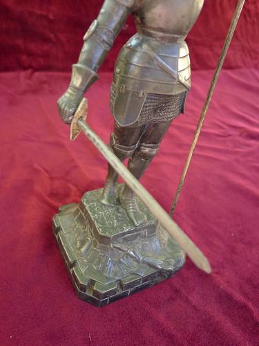 statue Jeanne d'Arc épée by angelarune