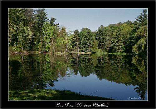 summer lake film landscape quebec lac super hudson agfa paysage ete silette solagon