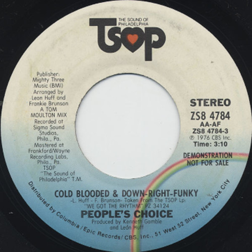 Cold Blooded & Down-Right-Funky