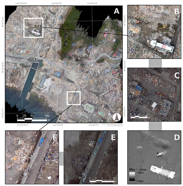 Post-earthquake Crisis Mapping in Japan, 640