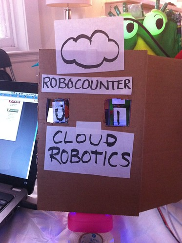 Cloud Robotics Hackathon - TEAM LIGHTNINGBOTS!