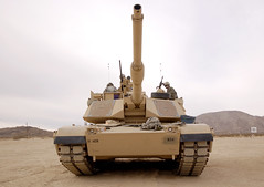 [Free Images] Wars, Military Vehicles, Tanks, M1 Abrams, American Forces ID:201203090000