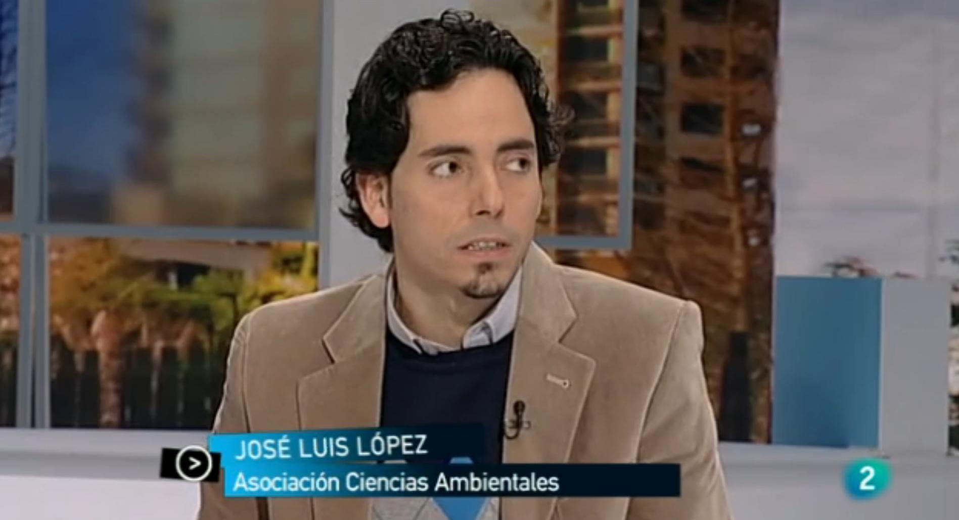 José Luis López Fernández en TVE