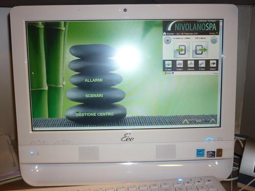 <p>Impianto domotico beauty farm gestito con sistema di supervisione Atena</p>