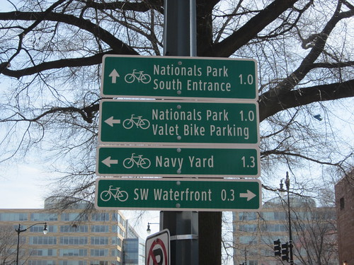New Bike Route Signs