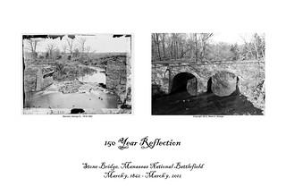 Image of Stone Bridge near Sudley. bridge civilwarmanassasstone