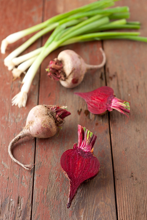 Beet Mushrooms Stew 1