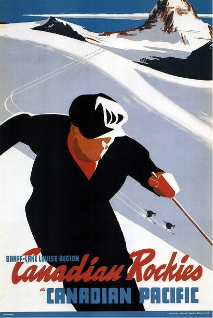 Peter Ewart, Canadian Rockies (Canadian Pacific) 1941