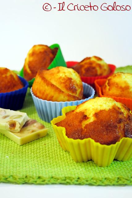 Muffins al cocco gluten free 2