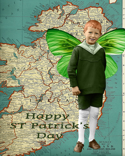 Happy St Patricks day by Lynne Larkin