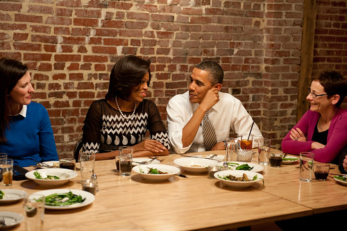 Dinner with Barack and Michelle—Washington, D.C., March 2nd, 2012